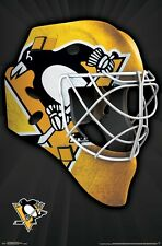 PITTSBURGH PENGUINS - MASK LOGO POSTER - 22x34 NHL HOCKEY 15317