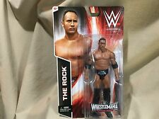 Wrestle Mania Action Figure The Rock Heritage Series CMT47 WWE 2014