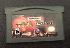 Matchbox Missions: Air, Land, and Sea Rescue/Emergency Response Nintendo GBA