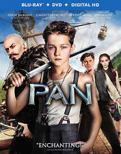 Pan (Blu-ray + DVD + UltraViolet) Blu-ray