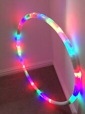 Light Up & Flashing HULA HOOP 6Modes Hoola Hoop Parties.Presents.Christmas.glow