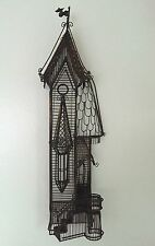 Guy Pullen Victorian House Metal Wire Wall Sculpture Rare Vintage 1970's Art