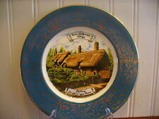 Reli Washbourne London Fine China Anne Hathaway's Cottage Plate