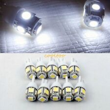 10pcs 24V T10 Wedge W5W 168 194 192 921 2825 5-SMD 5050 LED Light Bulbs - White