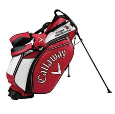 Callaway 2016 Staff Stand Bag Carry Bag - White Black Red - TWO ROUNDS 9.99
