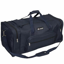 Everest Luggage Classic Gear Bag - Large, Black - Navy