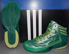 MENS ADIDAS ADIZERO CRAZY LIGHT 2 in colors GREEN / BLGOME / FOREST SIZE 9