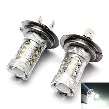 H7 80W CREE LED Super Bright Fog Tail Driving Head Car Light Lamp Bulb Bombilla