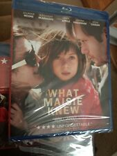 What Maisie Knew BLU RAY Julianne Moore BRAND NEW SEALED