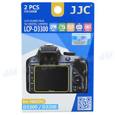 JJC LCD Guard Display Monitor Screen Protector Film For NIKON D3400 D3300 D3200
