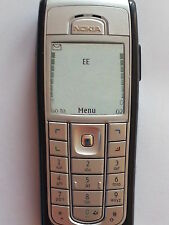 Refurbished  Nokia 6230i Silver Unlocked fully tested 6 MTH WARRANTY