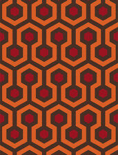 THE SHINING - OVERLOOK HOTEL CARPET - QUALITY RETRO MOUSE MAT / PAD