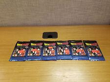 Lot of 6 Dragonball Z Collectible Card Game Saiyan Saga Boosters, New!