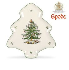 Spode Christmas Tree Shaped Dish - 14 Inches x 11, brand new in box