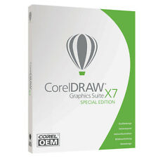 Corel DRAW Graphics Suite X7 Special Edition OEM -DEUTSCH- Vollversion #DVD-Box