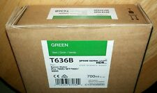 11-2015 NEW EPSON T636B GREEN Ink 700ml for Stylus Pro 7890/7900/9890/9900