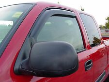In-Channel 2 piece Vent Visors for a Dodge Dakota 2005 - 2010