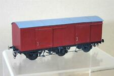 O GAUGE KIT BUILT BRASS LMS NE LNER 6 WHEEL SLIDING DOOR GOODS VAN WAGON mw