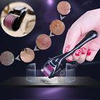 0.5 mm-2.0mm 540 agujas Titanium Microneedle Derma piel Roller Dermaroller