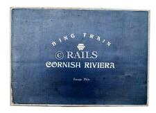 BING TRAINS CLOCKWORK O GAUGE 'CORNISH RIVIERA' LOCO AND COACHES TRAIN SET