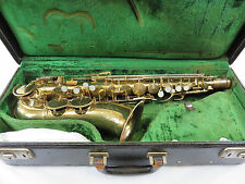 1938 King Zephyr Alto Sax (#203497) w/ Neck & MP, Original Case, FREE SHIPPING