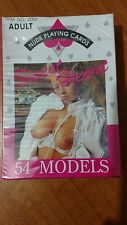 VINTAGE 90s NUDE LADY PLAYING CARDS SEAL 54 SWEET HEART MODELS COMPLETE(No 2002)