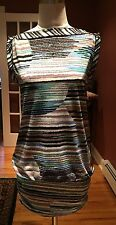 BCBG Maxazria sz XS multicolor dress or longer tunic Small cap/sleeveless