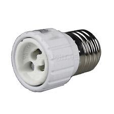 10 x Lampenfassung Adapter von E27 auf GU10 Adaptersockel Lampen Lampensockel