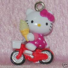 Multi-Color Unbranded Universal Hello Kitty Phone Charm w Strap&Bell HK1057 -2cm