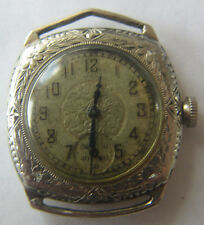 Elgin Caliber 430 14K GF Ornate Engraved Case And Dial Watch 1920s To Restore