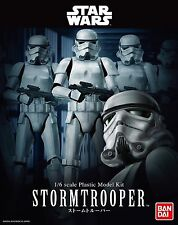 BANDAI STAR WARS MODEL KIT STORMTROOPER 1/6 MAQUETTE A MONTER 305mm