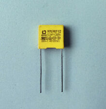 "10PCS polyproplene safely capacitor 0.1uF +/-10% 280vAC ""MPX/MKP X2"" Test Good!"