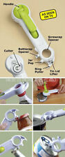 One Touch Kitchen Can Opener Can Do Bottle Opener 6 In 1 Creative convenience