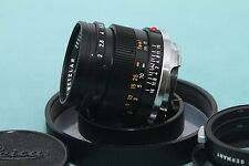 Leica Summicron-m 50mm Lente de F/2.0 con Lente Maker's Caja (agradable)