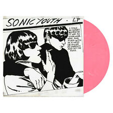 Sonic Youth Goo LP Pink & White Swirl Vinyl Newbury Comics EXCLUSIVE