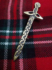TC New Scottish & Irish Celtic Pattern Heritage Kilt Pin/Celtic Sword Kilt Pins