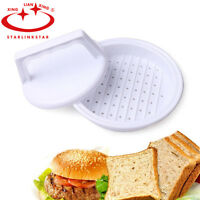 Hamburger Meat Beef Grill Burger Press Patty Maker Kitchen Tool Mould NEW