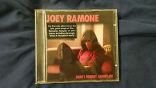 JOEY RAMONE - DON'T WORRY ABOUT ME. CD