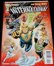 DC Comics 2011 NEW 52 JUSTICE LEAGUE INTERNATIONAL #1 NM  2nd Print Variant