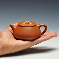 """""""Jingzhou Shipiao"""" Chinese Yixing Purple Clay Zisha Teapot Jiangpo Duan Ni 135cc"""