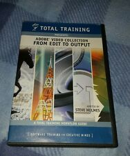 Total Training Adobe Video Collection From Edit to Output Dvds