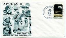 1969 Apollo-11 Kennedy Space Center Armstrong Aldrin Collins Florida Canaveral