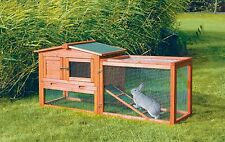 Trixie Pet Products Rabbit Hutch w/Outdoor Run X-Small 62339 Rabbit Hutch NEW