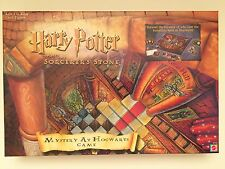 Harry Potter and the Sorcerer's Stone Mystery at Hogwarts Game 100% Complete EUC