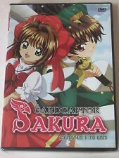 Cardcaptor Sakura TV 3-DVD Complete Collection Episodes 1-70 Anime Series New!
