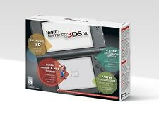 New Nintendo 3DS XL System - BLACK [NN3DS XL, NTSC, Console] NEW