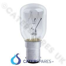 Four à micro-ondes lampe ampoule 25w petit baïonnette cap 230 / 240v push fit B15 pièces
