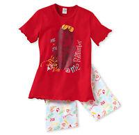 SCHIESSER Mädchen Schlafanzug Pyjama kurz 100% CO Gr. 128 140 152 164 176 NEU