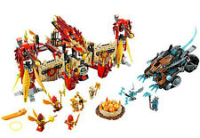 NEW LEGO Legends of Chima Flying Phoenix Fire Temple Set  (70146)