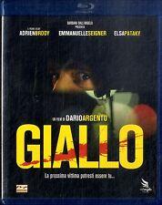 GIALLO di Dario Argento con Emmanuelle Seigner Adrien Brody BLURAY Come Nuovo